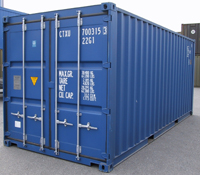 transportcontainer 20' ISO